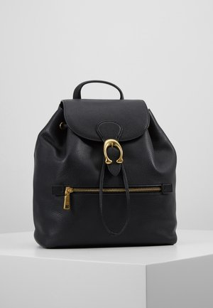 POLISHED EVIE BACKPACK - Reppu - black