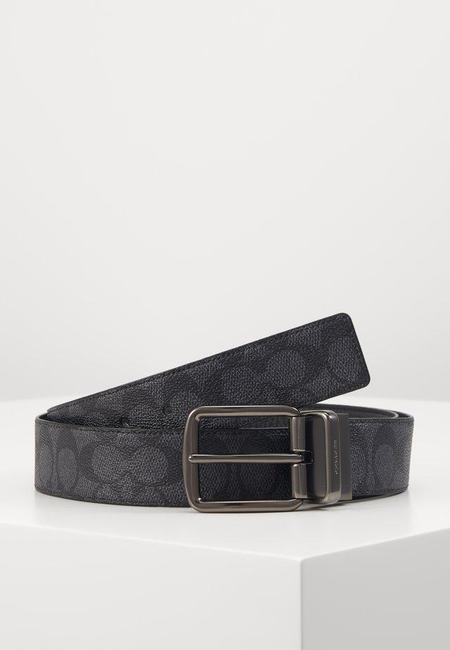 WIDE HARNESS SIGNATURE BELT - Belt - charcoal/black