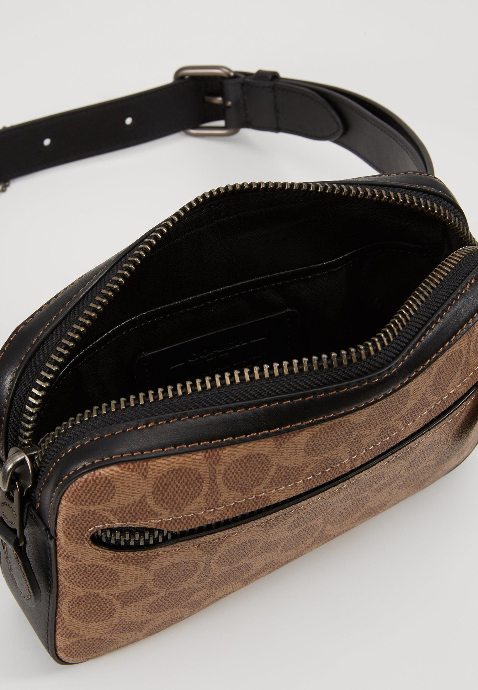 Coach MODERN BUSINESS BELT BAG IN SIGNATURE ANIMATION - Gürteltasche - khaki - Black Friday