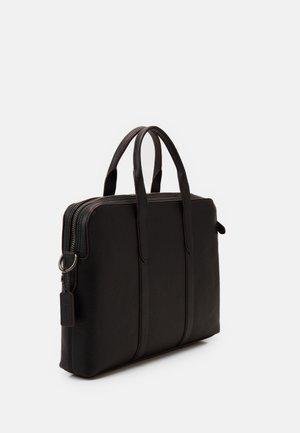 METROPOLITAN SOFT BRIEF - Briefcase - black