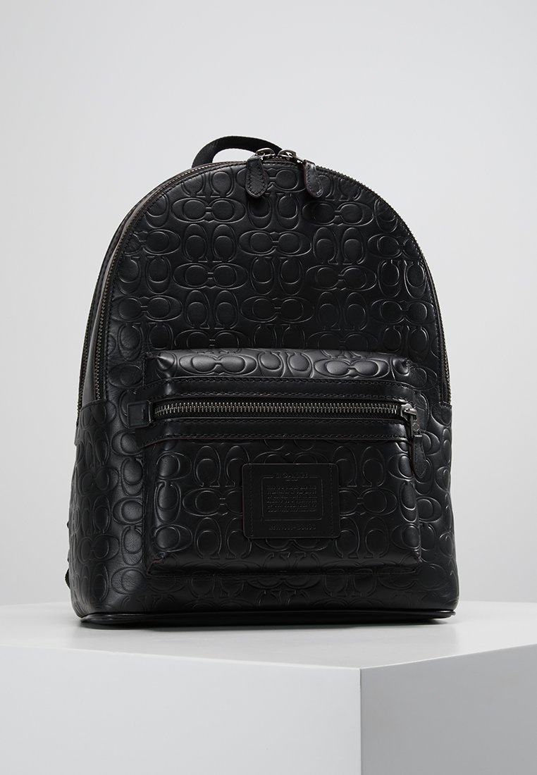 Coach - ACADEMY BACKPACK IN SIGNATURE - Rucksack - black
