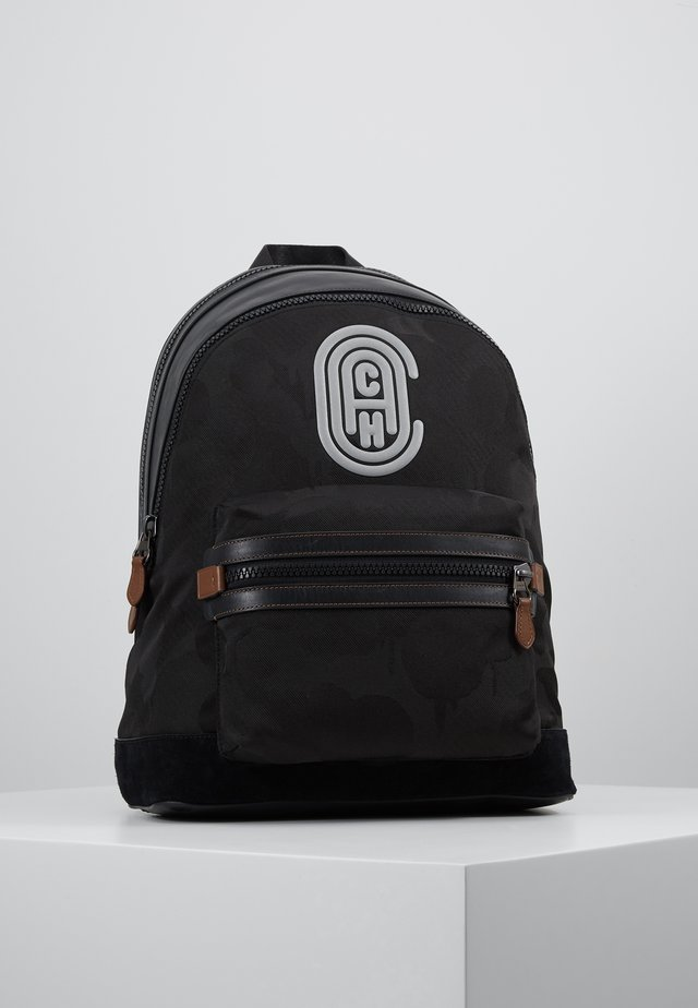 ACADEMY BACKPACK WITH PATCH - Zaino - black wild beast
