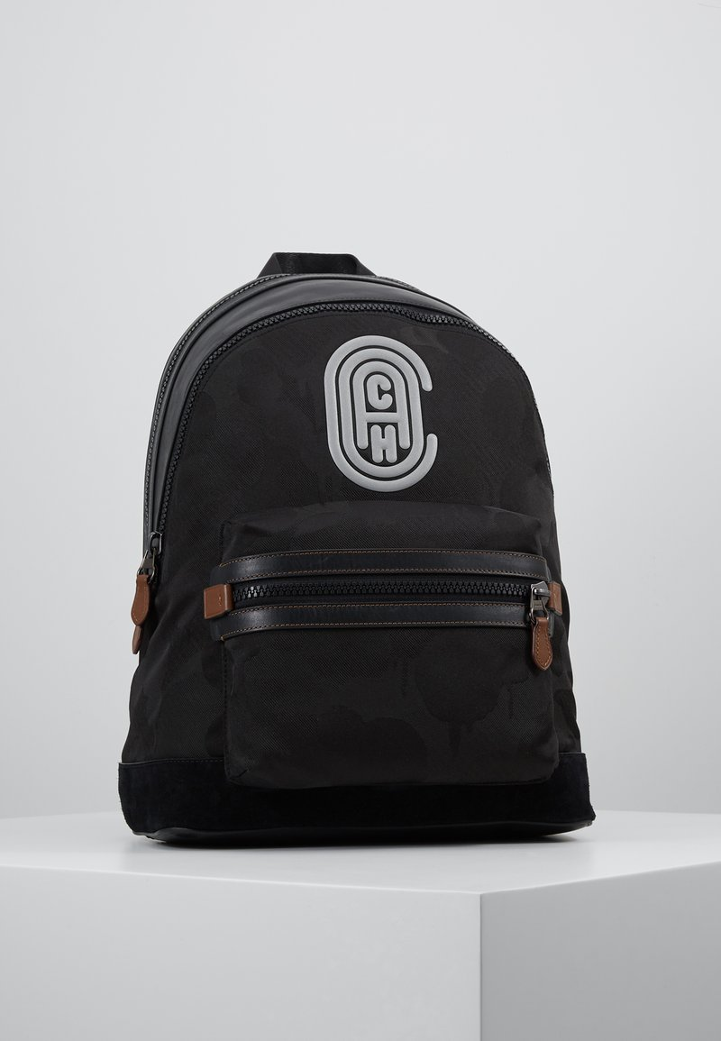 Coach - ACADEMY BACKPACK WITH PATCH - Rugzak - black wild beast