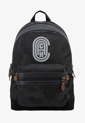 ACADEMY BACKPACK WITH PATCH - Rugzak - black wild beast