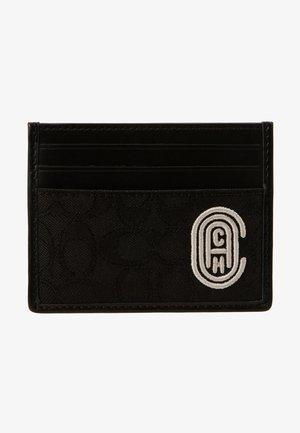 CARD CASE EMBROIDERED  - Visitenkartenetui - black/chalk