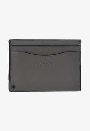 SWIVEL CARD CASE - Pouzdro na vizitky - grey/silver