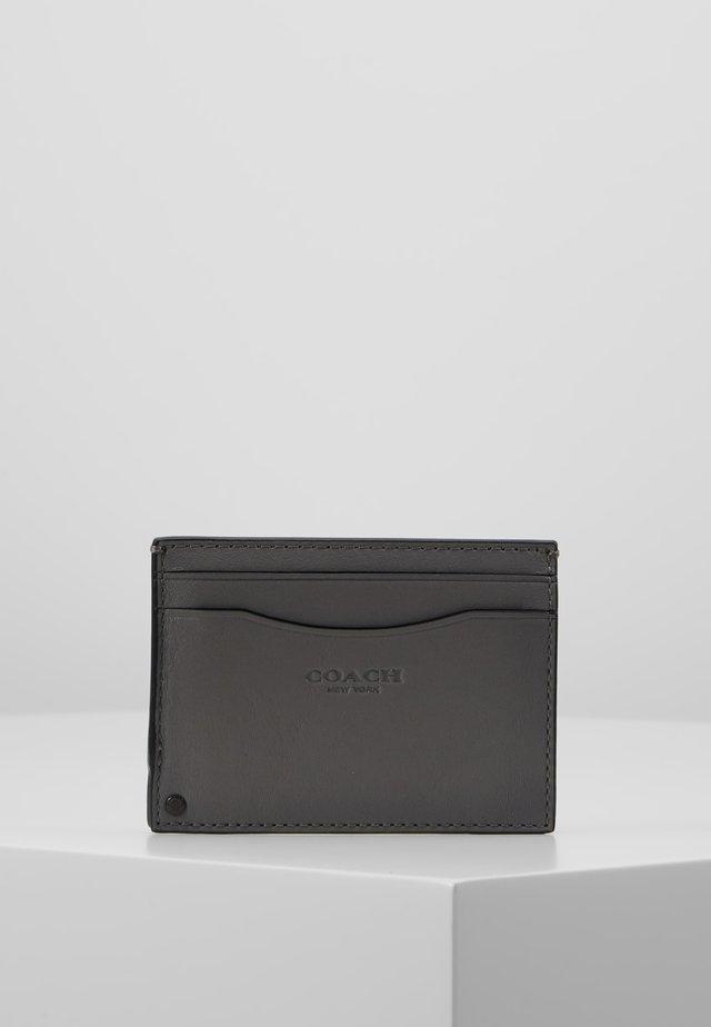 SWIVEL CARD CASE - Business card holder - grey/silver