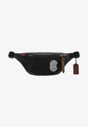 RIVINGTON BELT BAG WITH PATCH - Bum bag - black wild beast