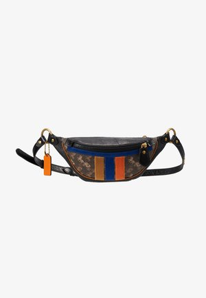 RIVINGTON BELT BAG HORSE AND CARRIAGE - Marsupio - black/brown