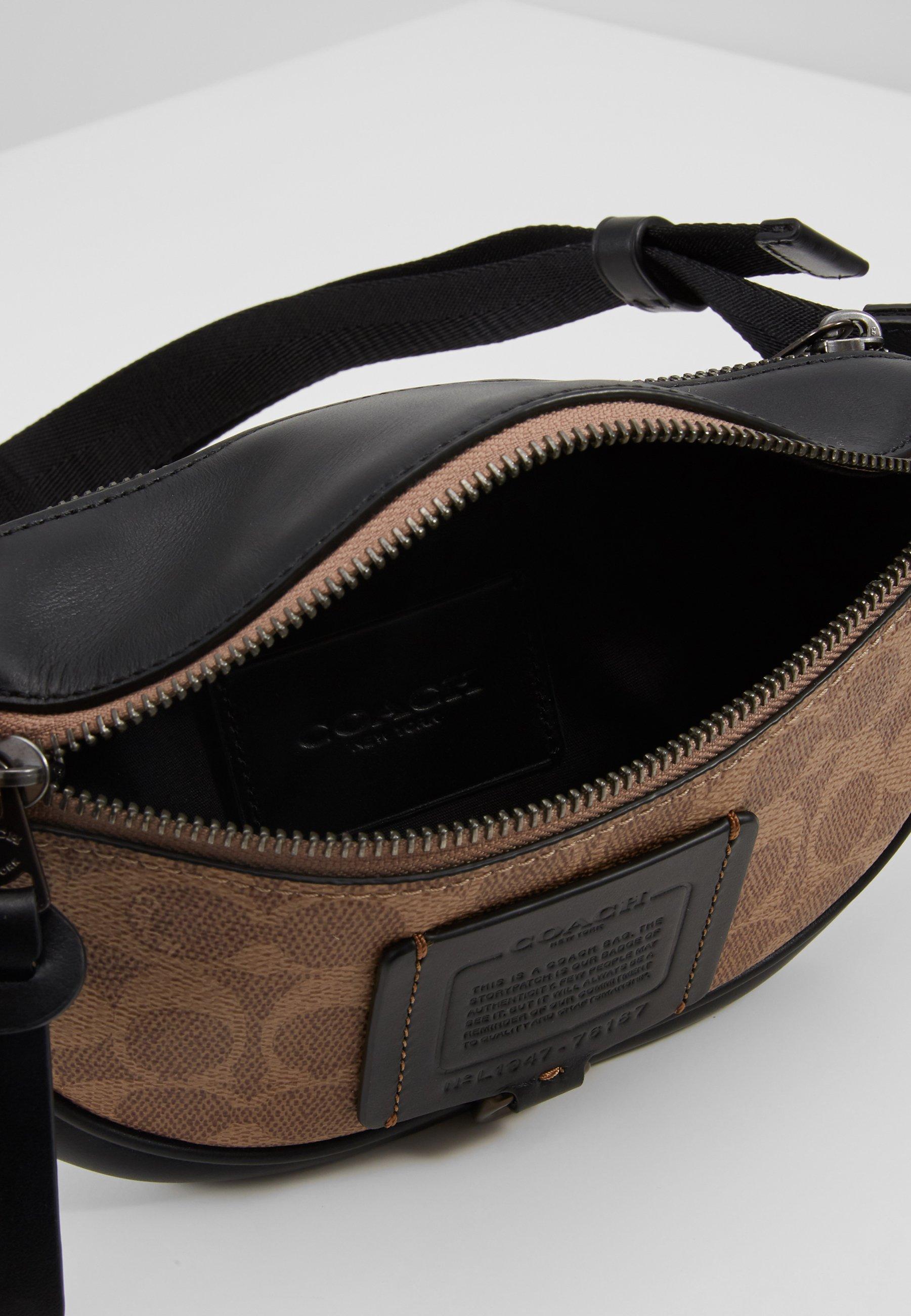 Coach Signature Rivington Belt Bag 7 - Sac Banane Brown