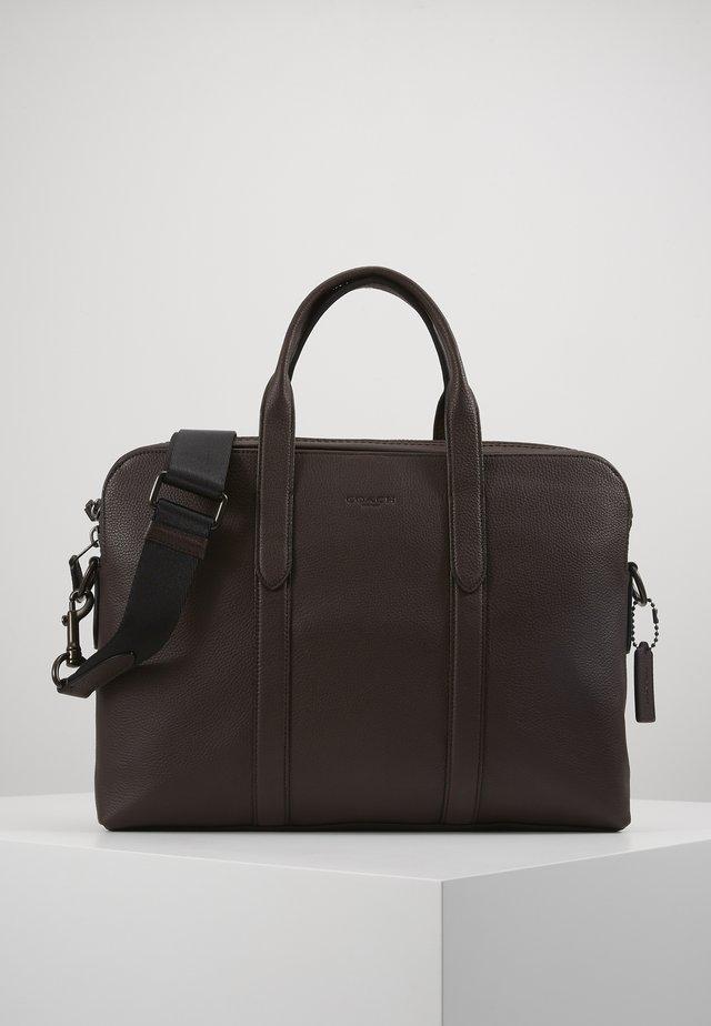 METROPOLITAN SOFT BRIEF CEW - Briefcase - qb/oak