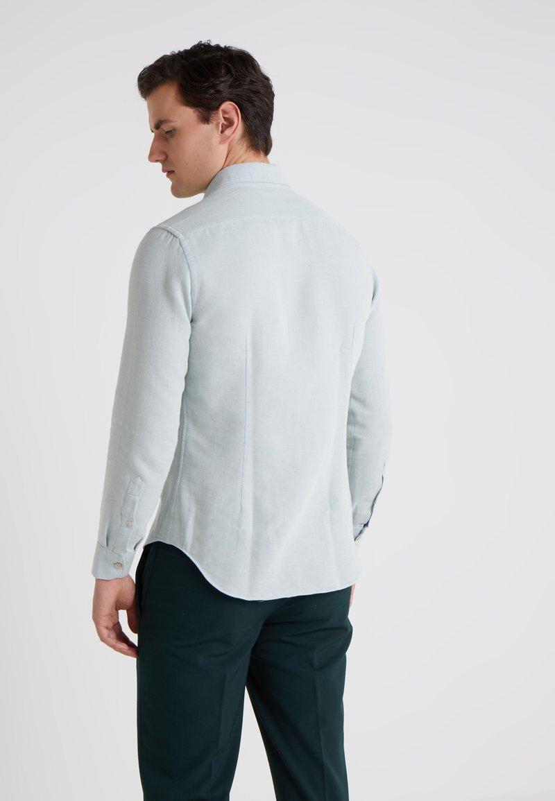 CORNELIANI - STRUCTURED SLIM FIT - Skjorter - blue