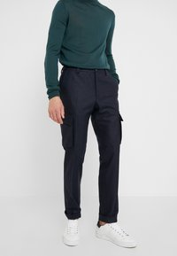 CORNELIANI - PANT - Cargo trousers - dark blue - 0