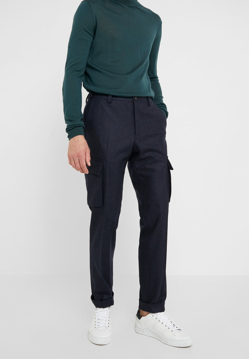 CORNELIANI - PANT - Cargo trousers - dark blue