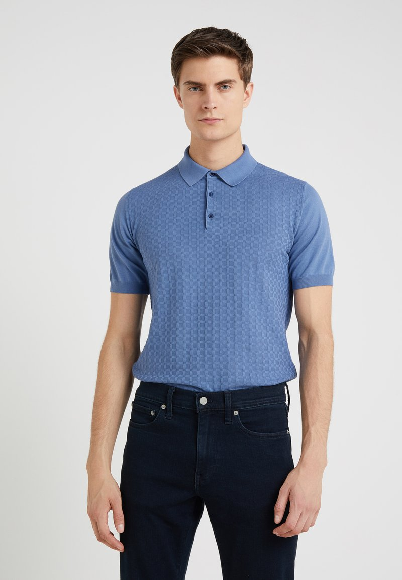 CORNELIANI - Polo shirt - blue
