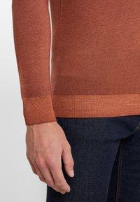 CORNELIANI - Stickad tröja - brown - 5