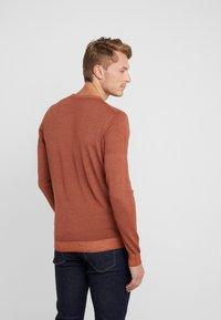 CORNELIANI - Stickad tröja - brown - 2
