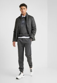 CORNELIANI - Tracksuit bottoms - grey - 1