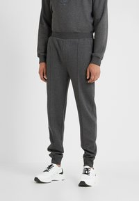 CORNELIANI - Tracksuit bottoms - grey - 0