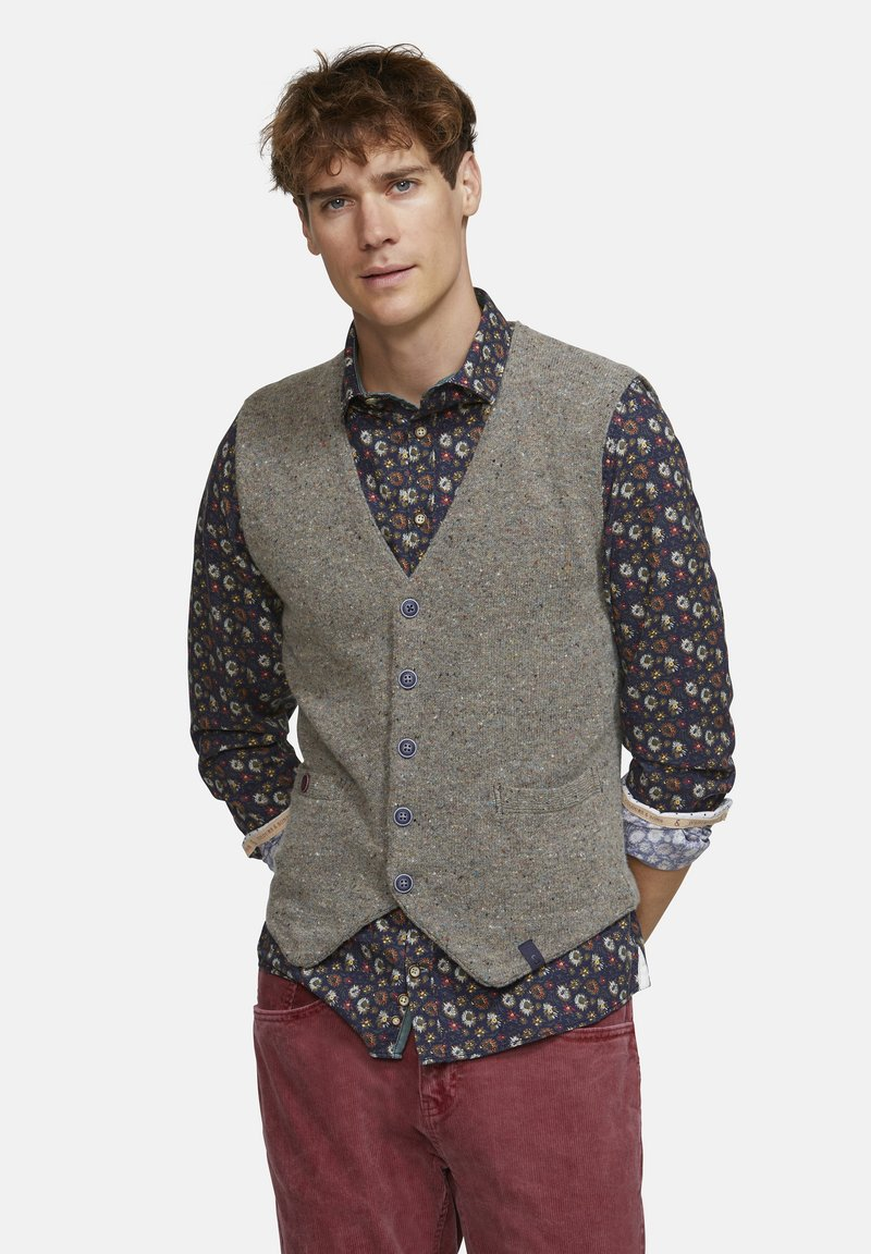 Colours & Sons - Waistcoat - brown