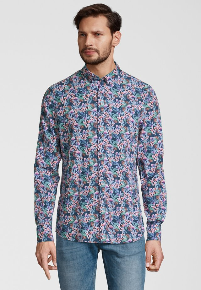 Shirt - multi-flower
