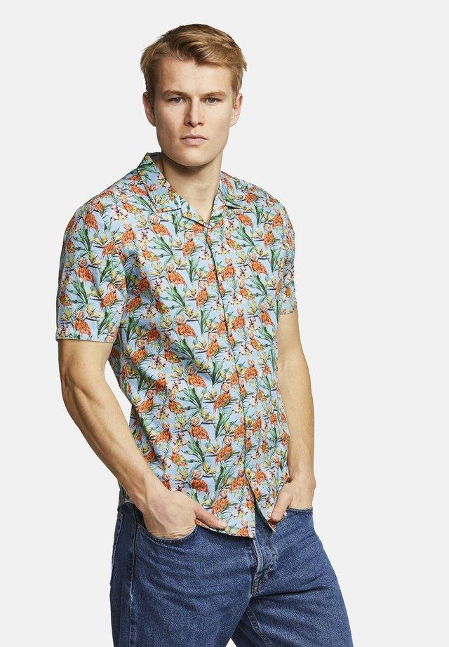 KURZARMHEMD FLAMINGO-PRINT COLIN - Overhemd - flamingo