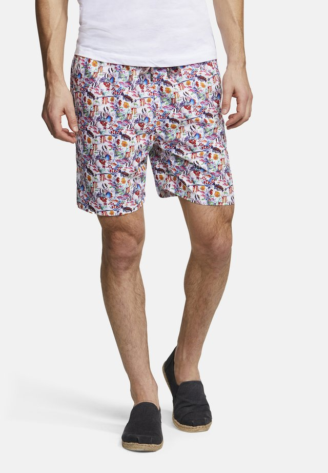 BADESHORTS ANIMAL-PRINT SIMON - Swimming shorts - aquarium