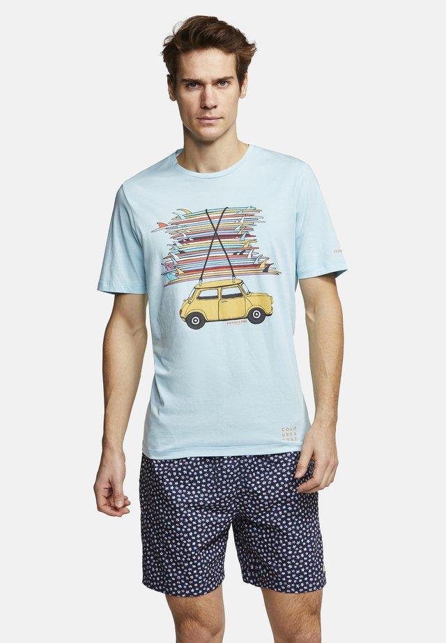 T-SHIRT BOARDS TIM - T-Shirt print - surf mini