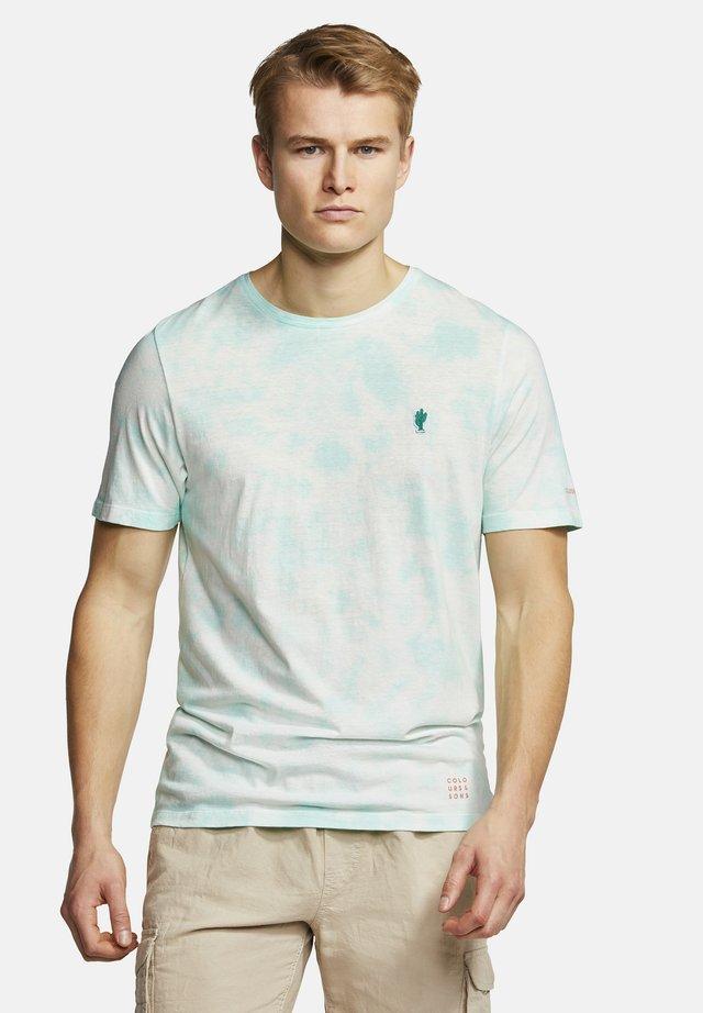 T-SHIRT BATIK FRANK - Print T-shirt - light cactus