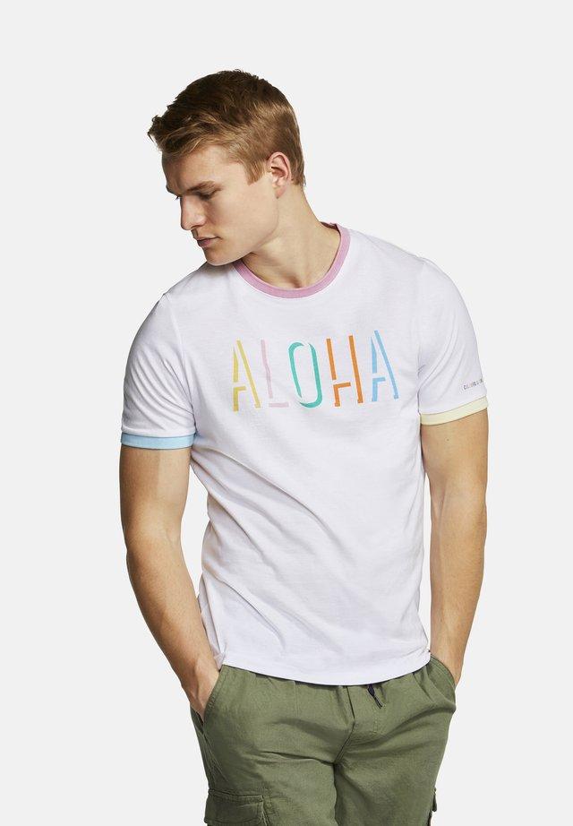 T-SHIRT ALOHA DUST - T-Shirt print - aloha