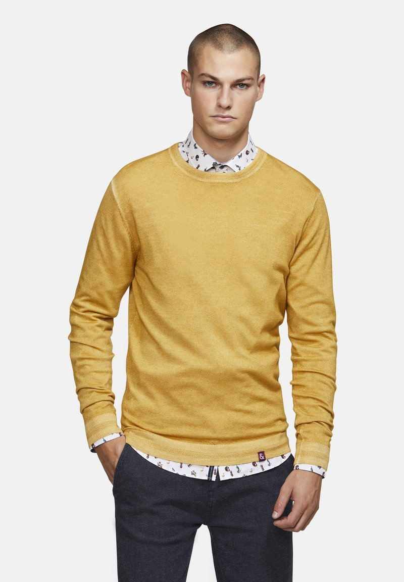Colours & Sons - MICHAEL - Jumper - yellow