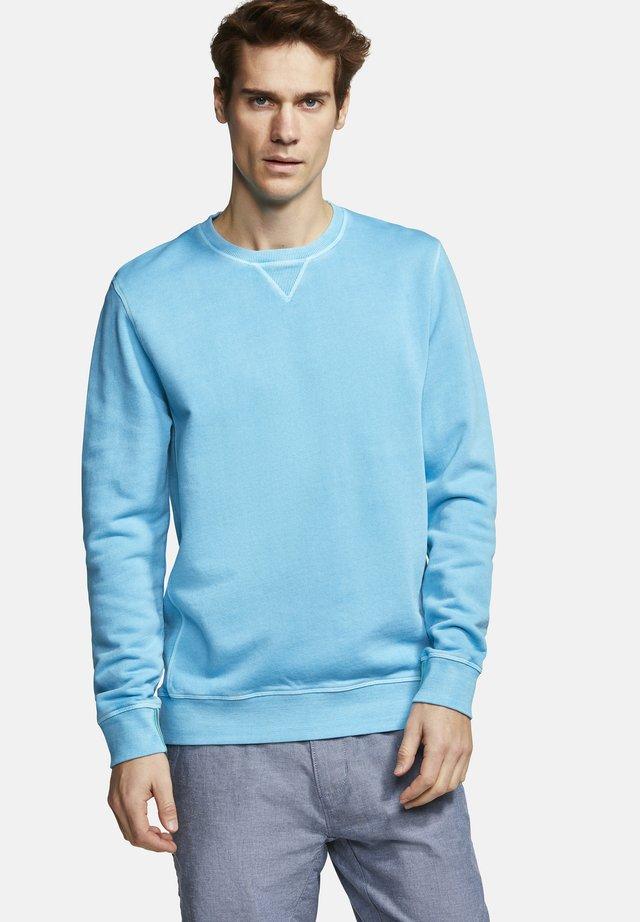 EDGAR - Sweatshirt - aqua