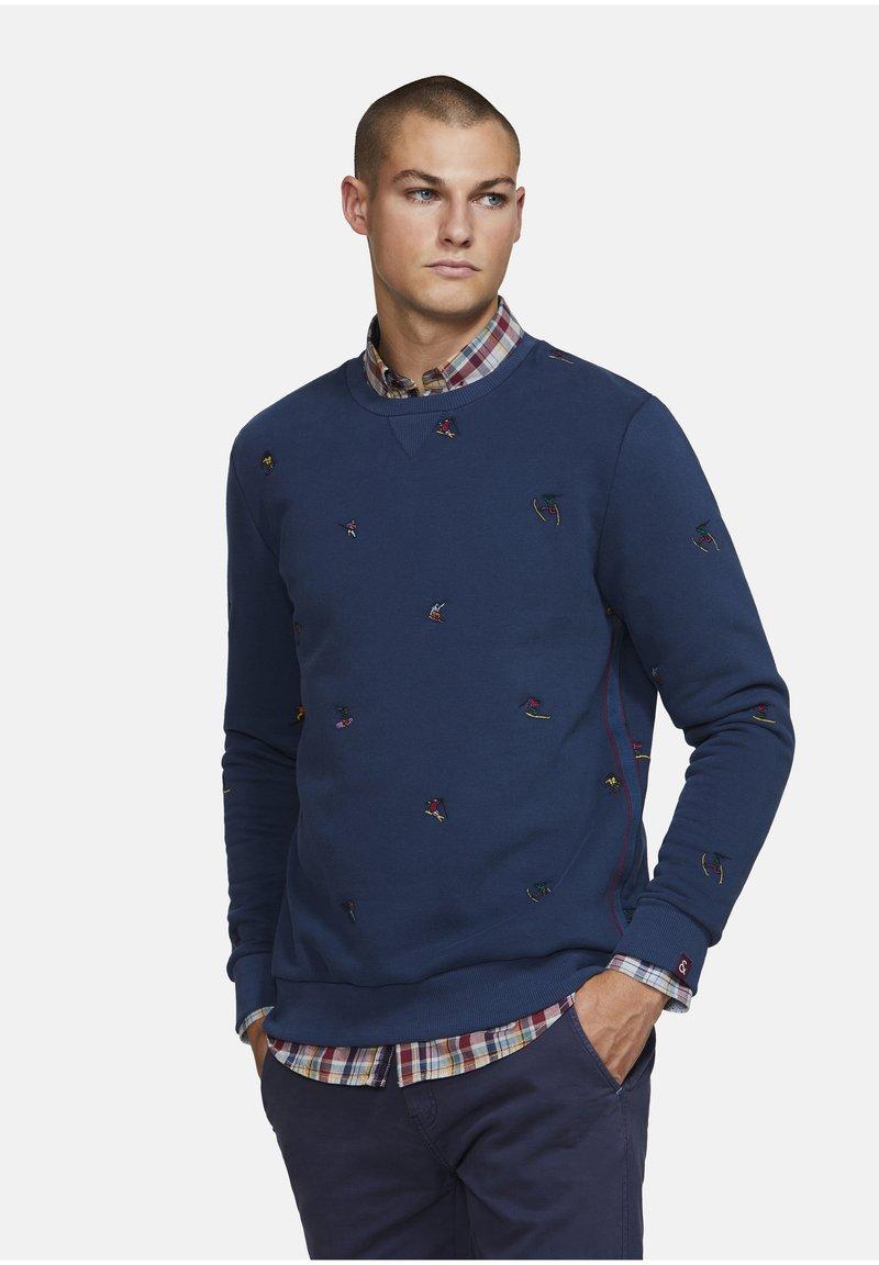 Colours & Sons - PEDRO - Sweatshirt - navy