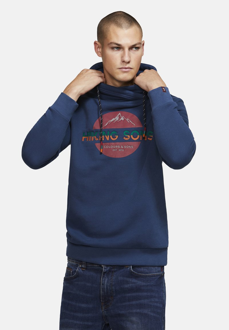 Colours & Sons - BAILEY - Sweatshirt - navy