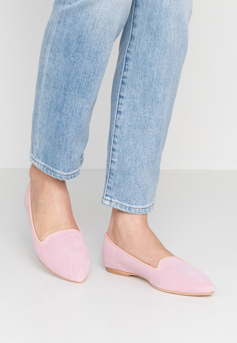 Copenhagen - Nazouvací boty - rose