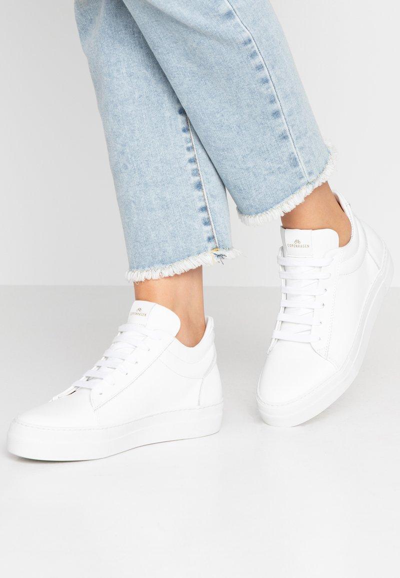 Copenhagen - Sneaker high - white