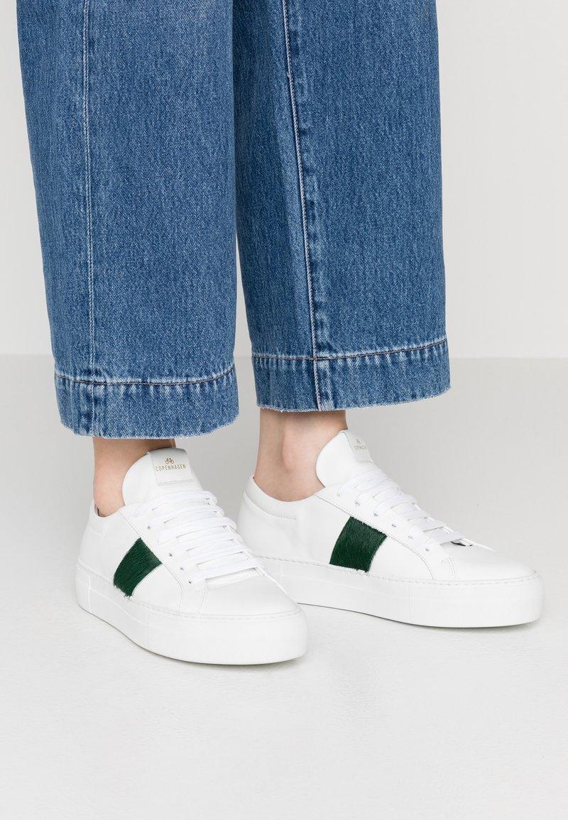 Copenhagen - Trainers - white/green
