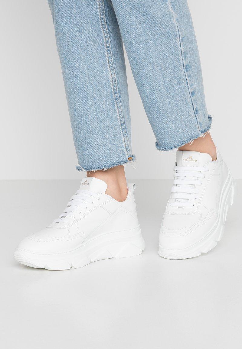 Copenhagen - Sneakers laag - bianco