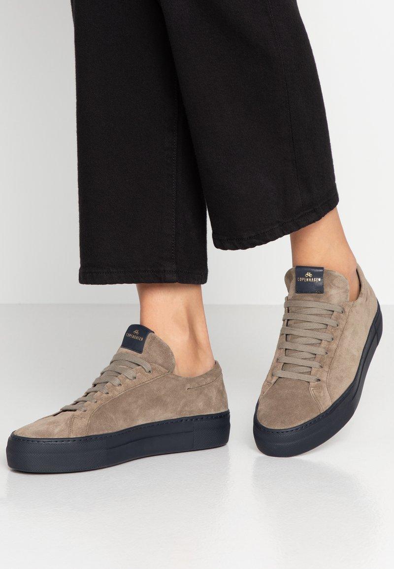 Copenhagen - Sneakers laag - stone