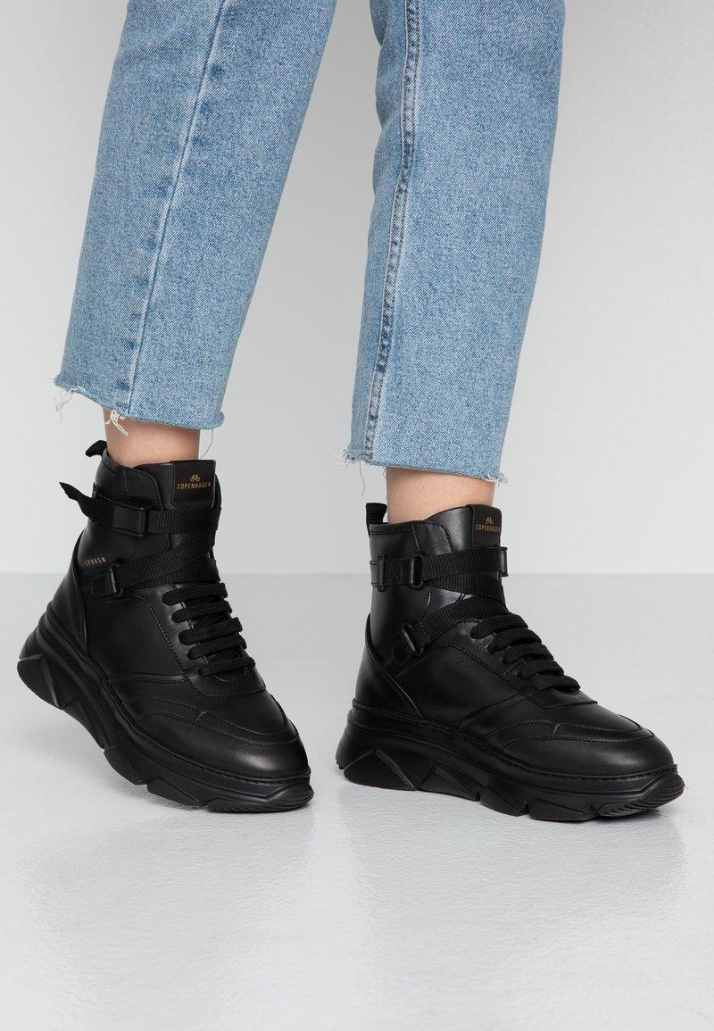 Copenhagen - Sneakers hoog - black