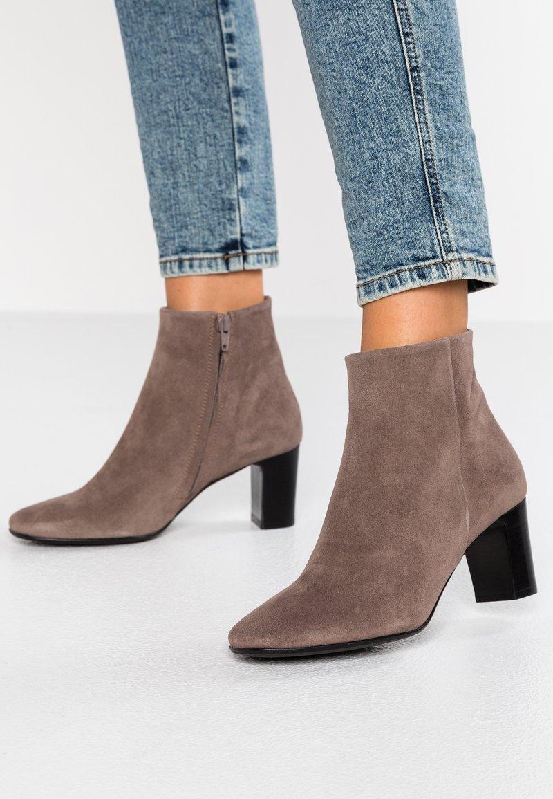 Copenhagen - Ankle boots - dark beige