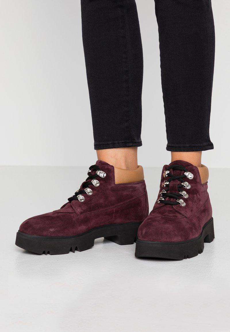 Copenhagen - Ankle boots - woodberry/black
