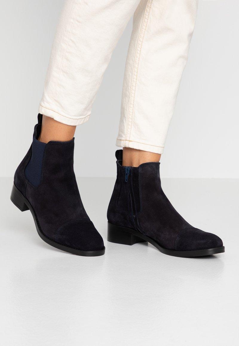 Copenhagen - Ankle Boot - navy