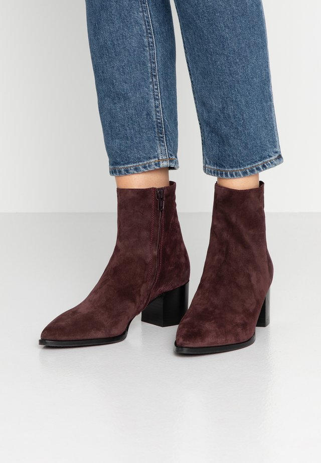 Classic ankle boots - woodberry