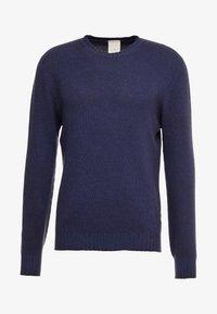 120% Cashmere - Strikpullover /Striktrøjer - blue navy darkness - 3
