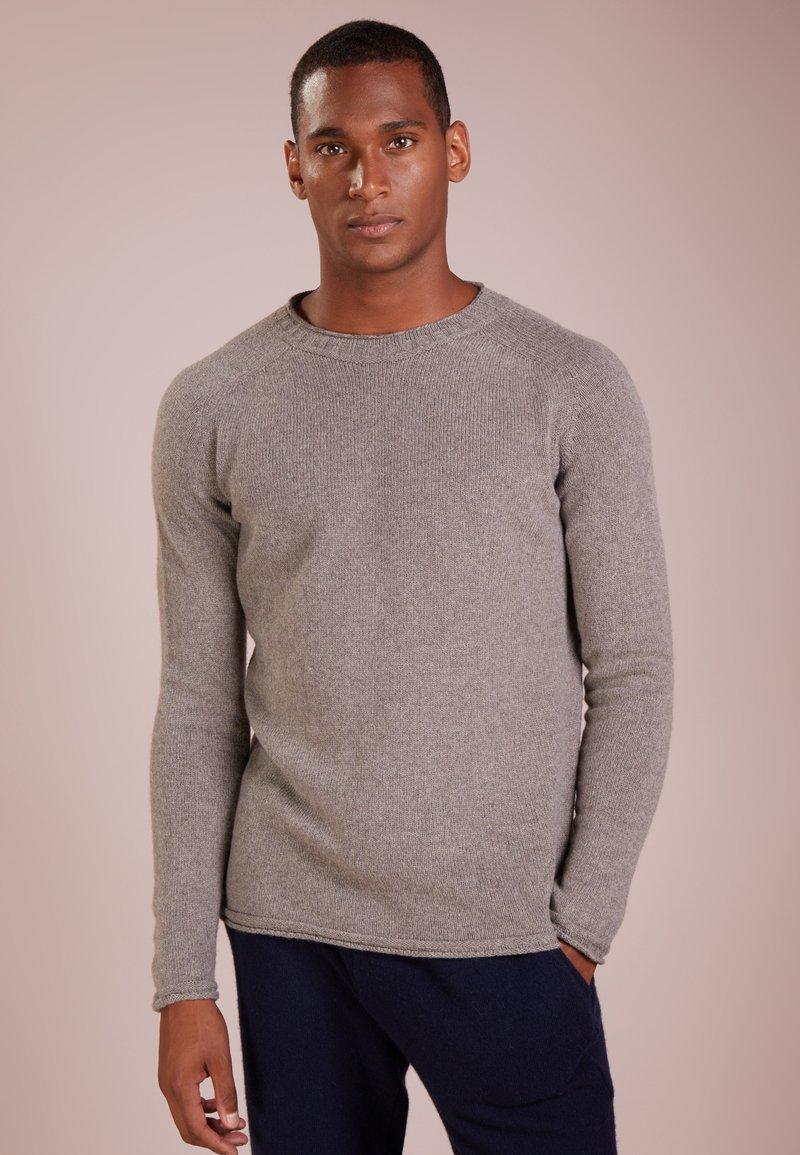 120% Cashmere - Trui - dusty grey