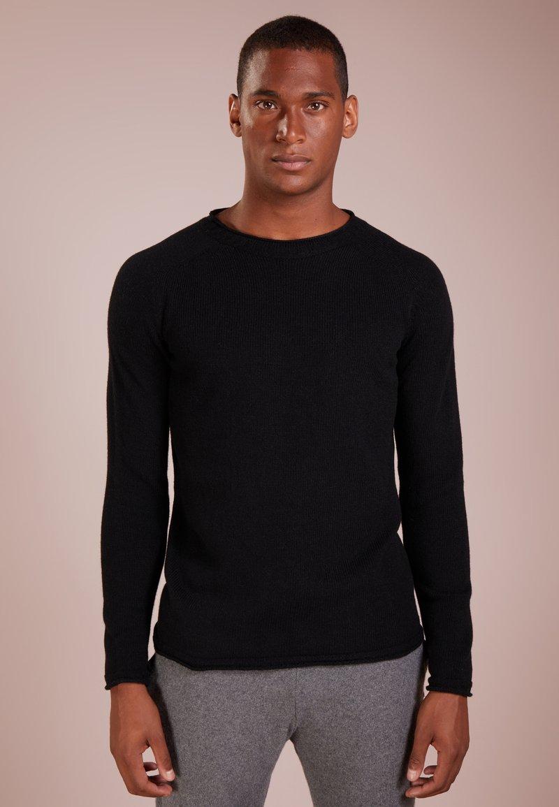 120% Cashmere - Pullover - black