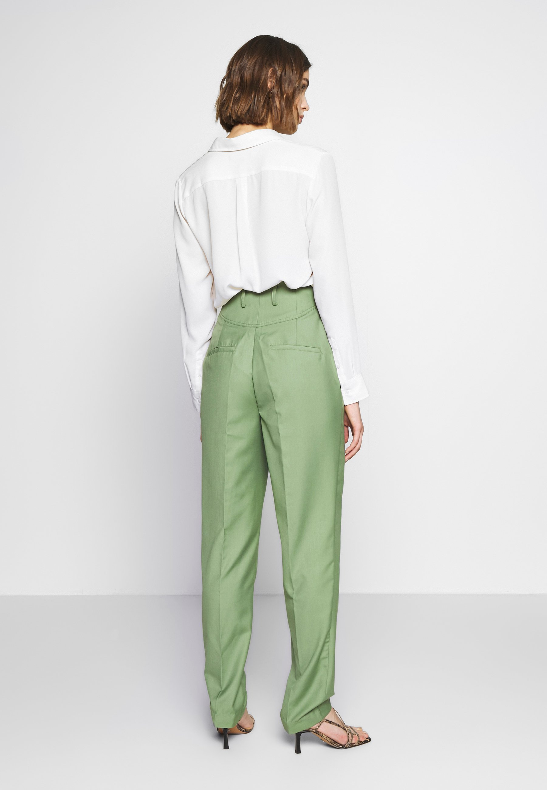 CMEO COLLECTIVE JUST THE SAME PANT - Spodnie materiałowe - green