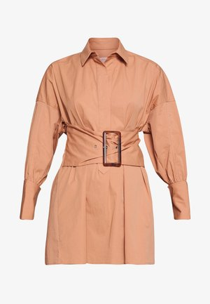 ARTWORK DRESS - Skjortekjole - tan