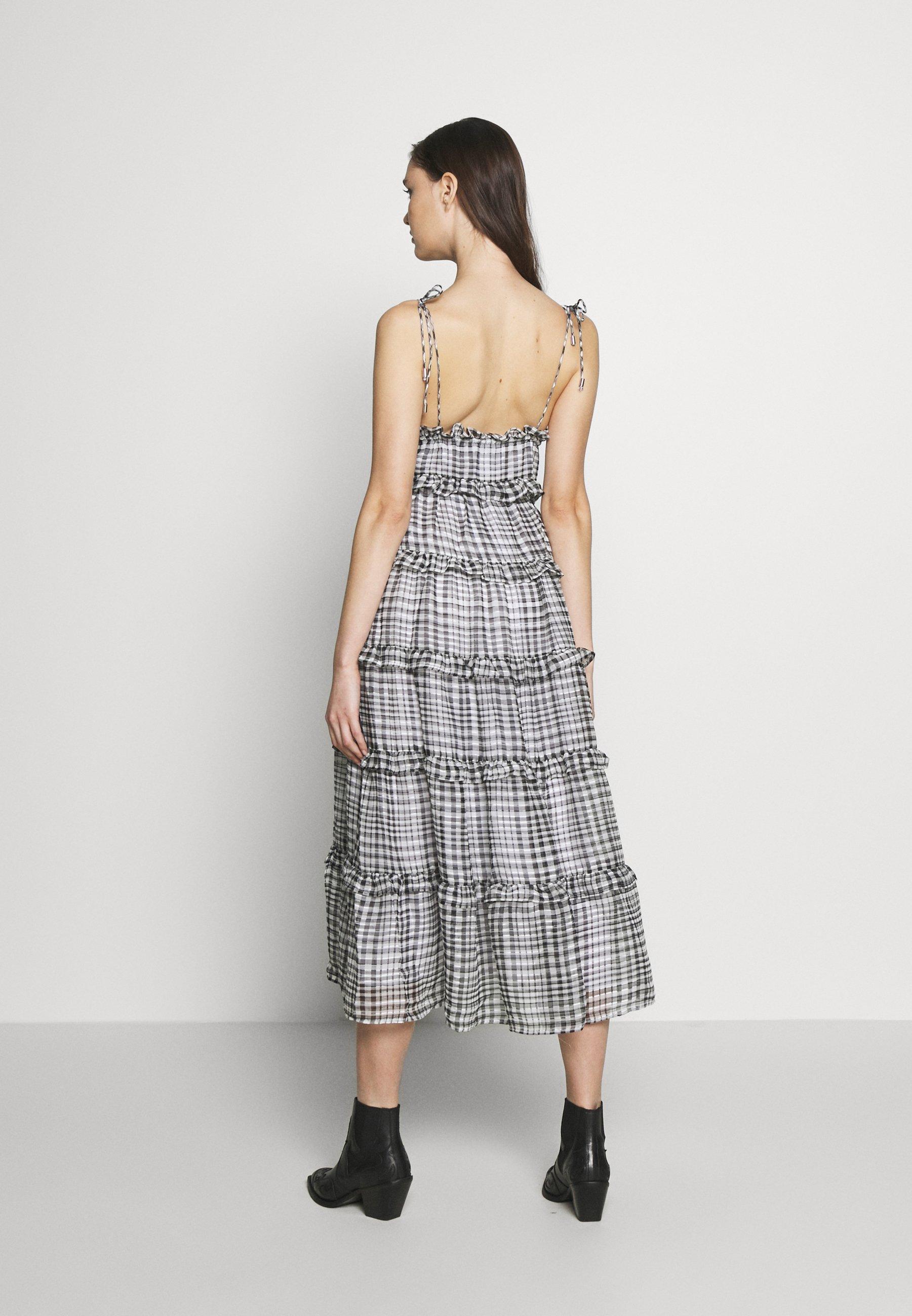 CMEO COLLECTIVE STEALING SUNSHINE DRESS - Sukienka letnia - black